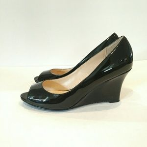 Cole Haan Women's size 8 Black wedge shoes